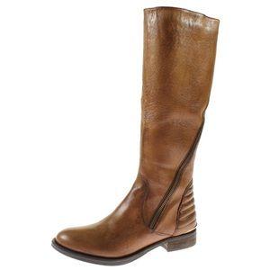 Steve Madden ABBYY wide calf boot (Brown)